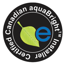Certified Canadian aquaBRIGHT Installer